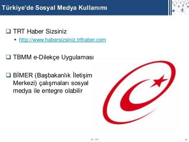 Türkiye'de Sosyal Medya Kullanımı  TRT Haber Sizsiniz    http://www.habersizsiniz.trthaber.com  TBMM e-Dilekçe Uygulama...