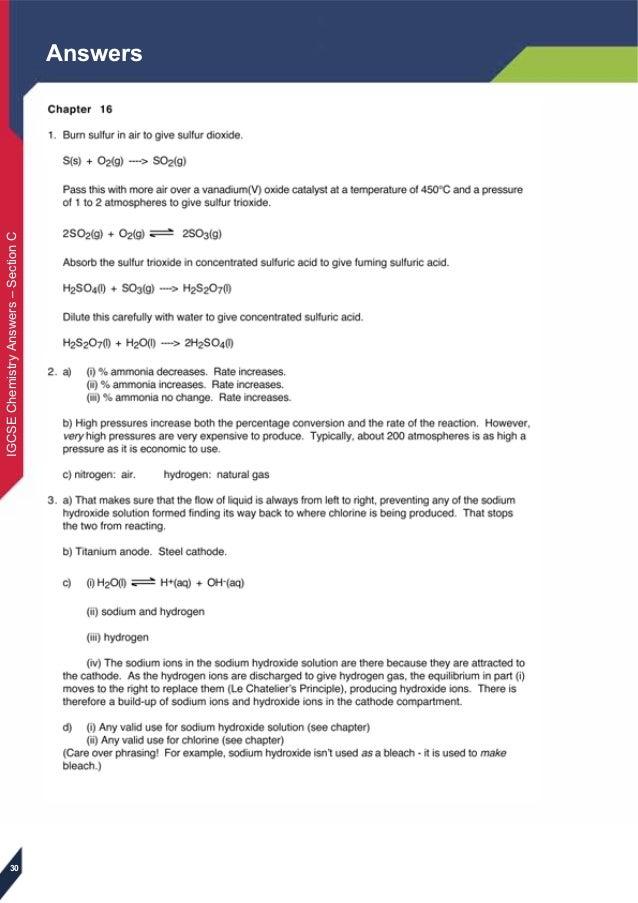 Igcse Chemistry Book Pdf
