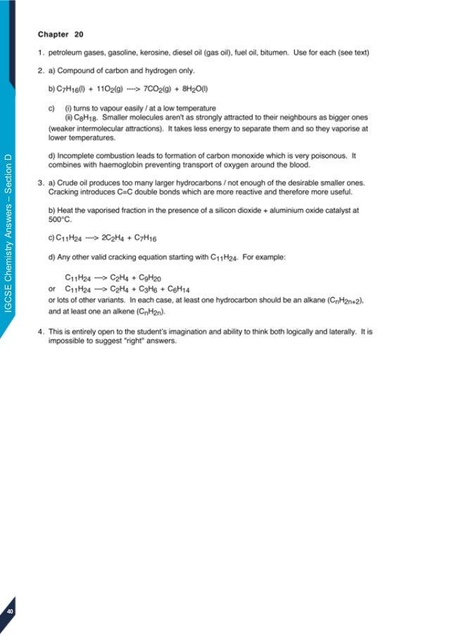 Edexcel igcse chemistry answers igcsechemistryanswerssectiond 40 fandeluxe Image collections