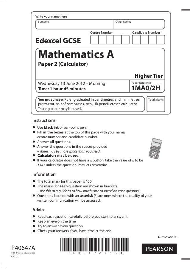 1mao2h 3 array edexcel maths hight tier 1mao 2h rh slideshare net fandeluxe Choice Image