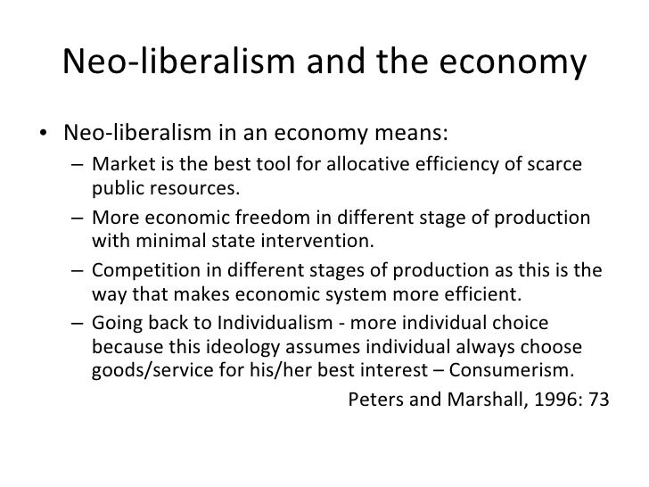 an introduction to the dominant ideology of capitalism Suggests that one important determinant of the dominant economic ideology and policy stance is the  globalization and neoliberalism capitalism .