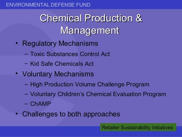 EDF: Market Sustainability: Retailer Initiatives Slide 3