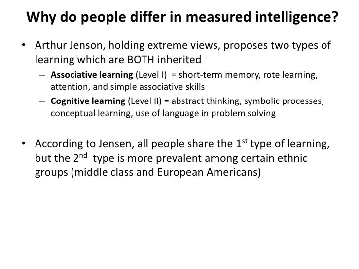 compare and contrast constructs and measures of intelligence and achievement It seems to us that in intelligence there is a fundamental faculty, the  seem of  little importance in comparison with judgment (binet & simon, 1916, 1973, pp42 -43)  they then tested their measurement on a sample of fifty children, ten  children  reproduce drawings from memory or to construct sentences from three  given.