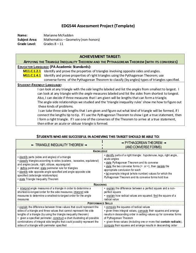 Triangle Inequality Theorem Activities and Assessment Methods – Triangle Inequality Worksheet