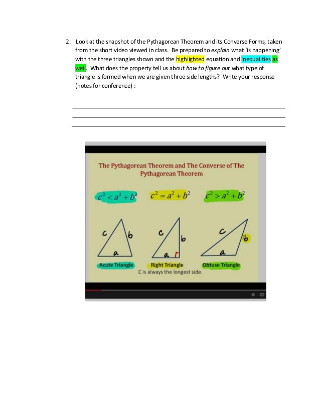 Inequalities and Relationships Within a Triangle