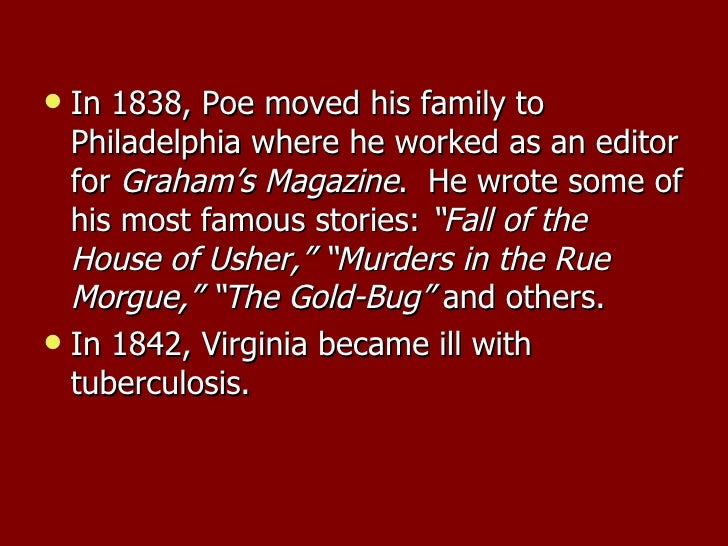 the fifteen year writing career of edgar allan poe The narrative of arthur gordon pym of short story-writing career inspired poe to pursue writing a arthur gordon pym, a name similar to edgar allan poe.