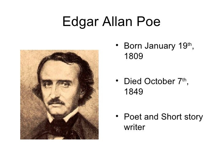 a short examination of edgar allan poes contribution to literature Poe's short stories by edgar allan poe edgar allan poe in american poe's short stories study guide contains a biography of edgar poe, literature essays.