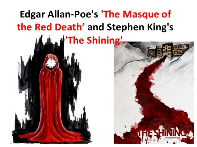 an analysis of symbolism in the masque of the red death by edgar allan poe Free shipping on qualifying offers the masque of the red death is a work by  edgar allan poe now brought to you in this new edition of the timeless classic.