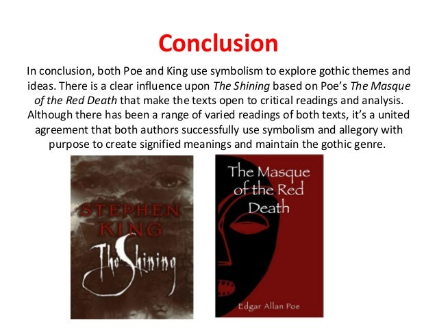 edgar allan poe essay conclusion Stuck writing a edgar allan poe essay we have many edgar allan poe example essays that answers many essay questions in edgar allan poe.