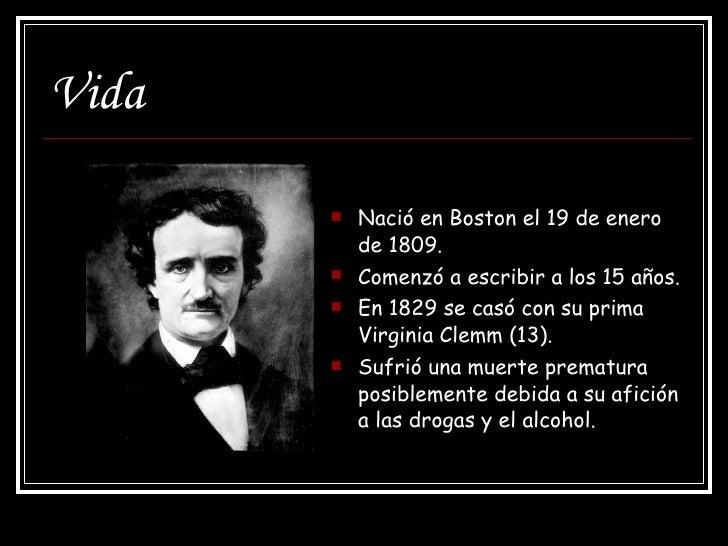 Edgar Allan Poe Slide 3
