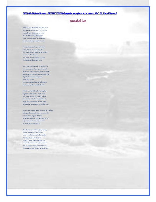 DESCARGASAuditorium - BEETHOVEN08-Bagatela para piano en la menor, WoO 50, Para Elisa.mp3                                 ...