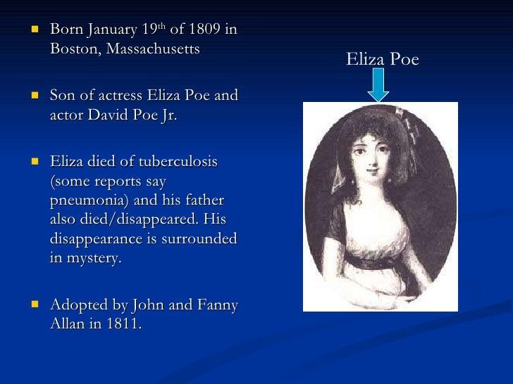 Edgar Allan Poe background Slide 2