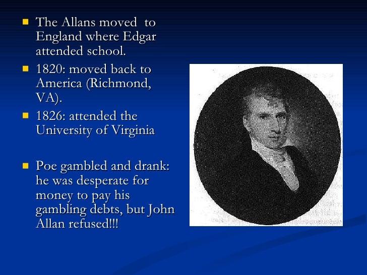 Edgar Allan Poe background Slide 3