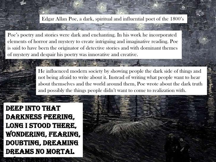 Edgar Allan Poe, A ...