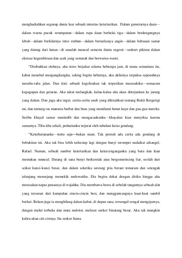 Translation Sample English Indonesian From The Tale Of The Ragged M