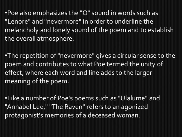 poem interpretation the raven The raven by edgar allan poe - once upon a midnight dreary, while i pondered, weak and weary, over many a quaint and curious volume of forgotten lore.