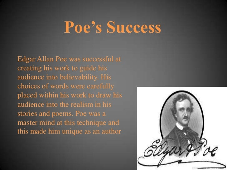 the different techniques used in short stories by edgar allan poe Essay on tell-tale heart literary analysis is easy to see that poe used short tell-tale heart this edgar allan poe's short story indicates the.