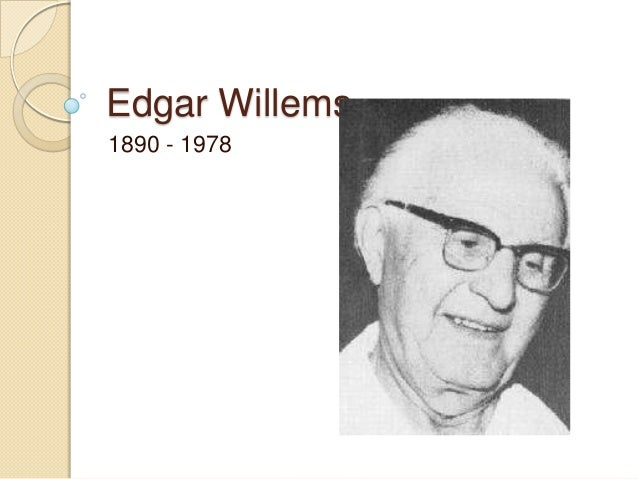 Edgar Willems1890 - 1978