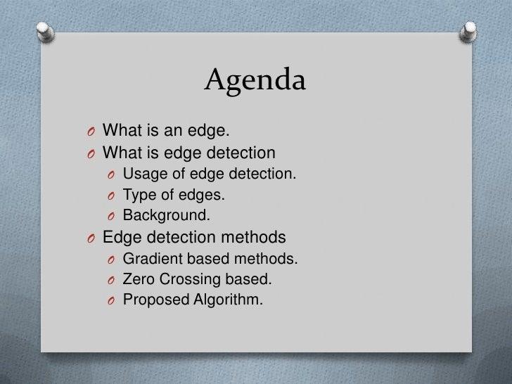 Edge detection Slide 2