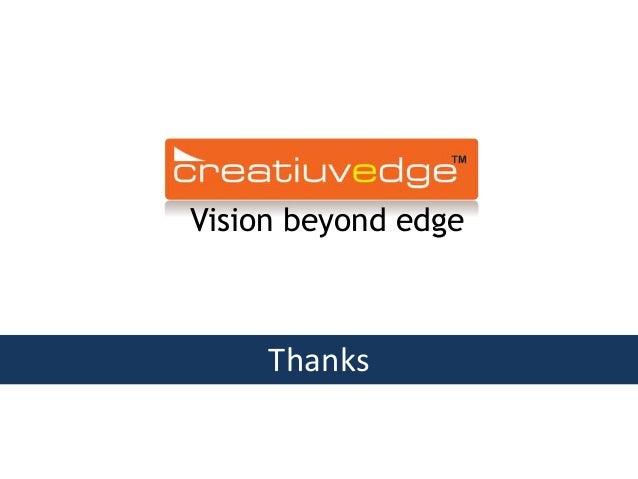 Vision beyond edge Thanks
