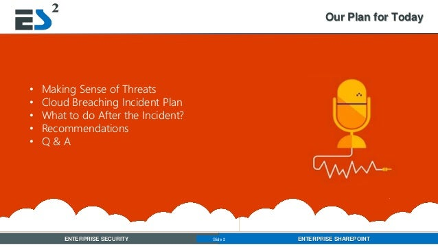 When a Data Breach Happens, What's Your Plan? Slide 2