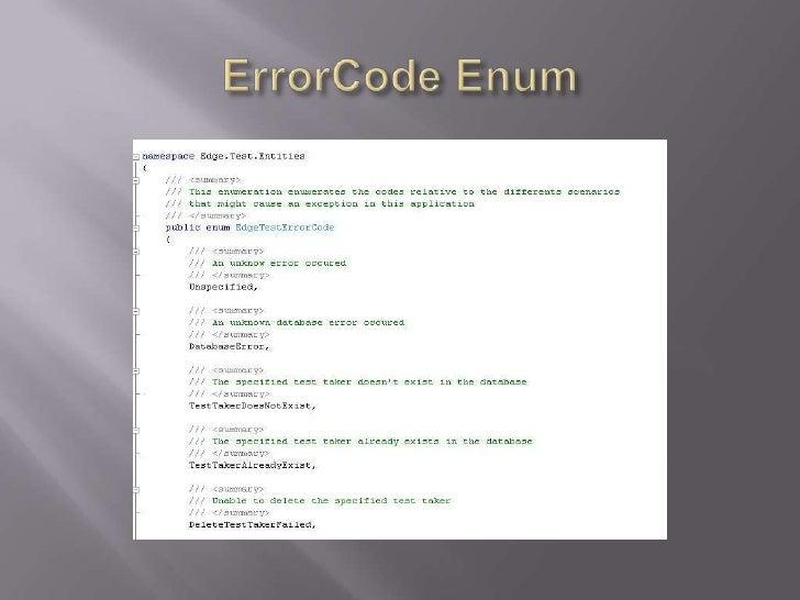 ErrorCodeEnum<br />