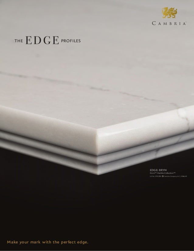 Cambria Edge Profile Sheet