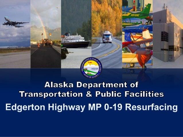 Alaska DOT&PF Northern Region