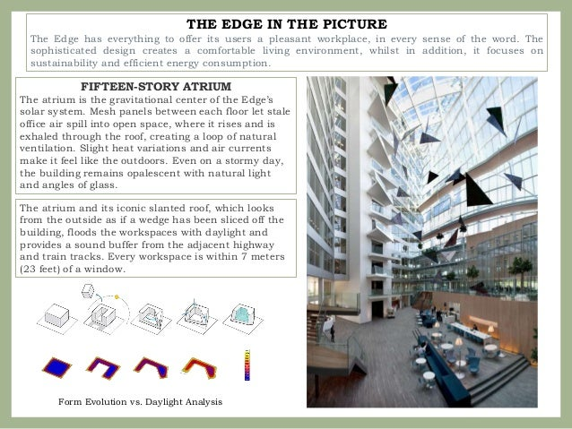 The Edge Smart Building