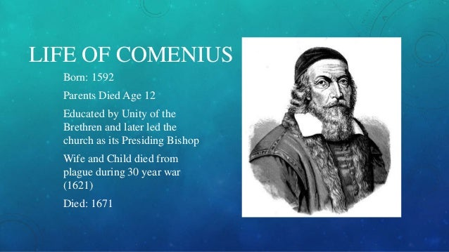john amos comenius essay example Before maria montessori, there was john amos comenius  anti essays, your  source for research papers, essays, and term paper examples.
