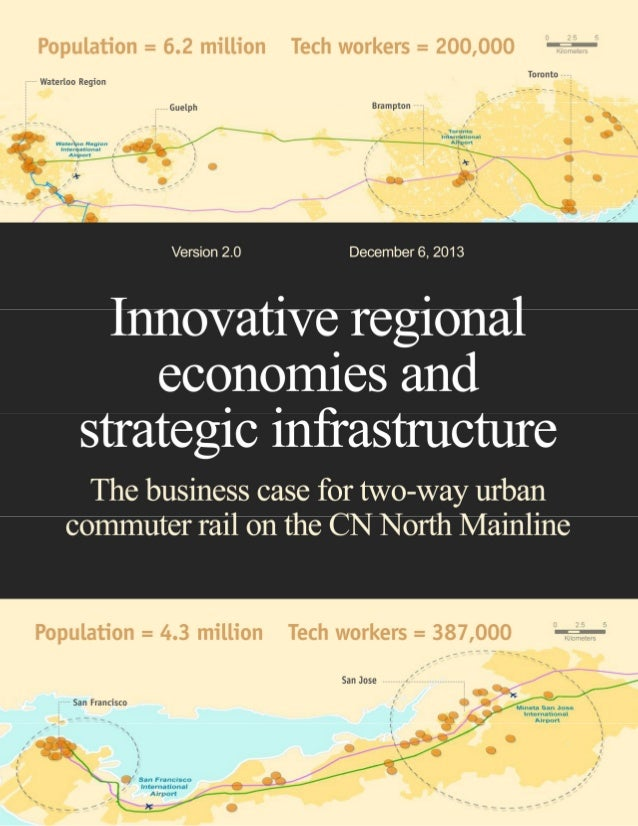 The business case for two-way urban commuter rail  Executive summary Recommendation/Request A 10-year capital allocation f...