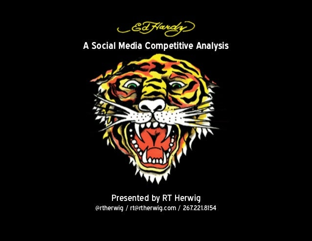 A Social Media Competitive Analysis       Presented by RT Herwig  @rtherwig / rt@rtherwig.com / 267.221.8154