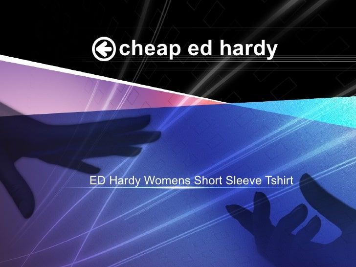 cheap ed hardy ED Hardy Womens Short Sleeve Tshirt
