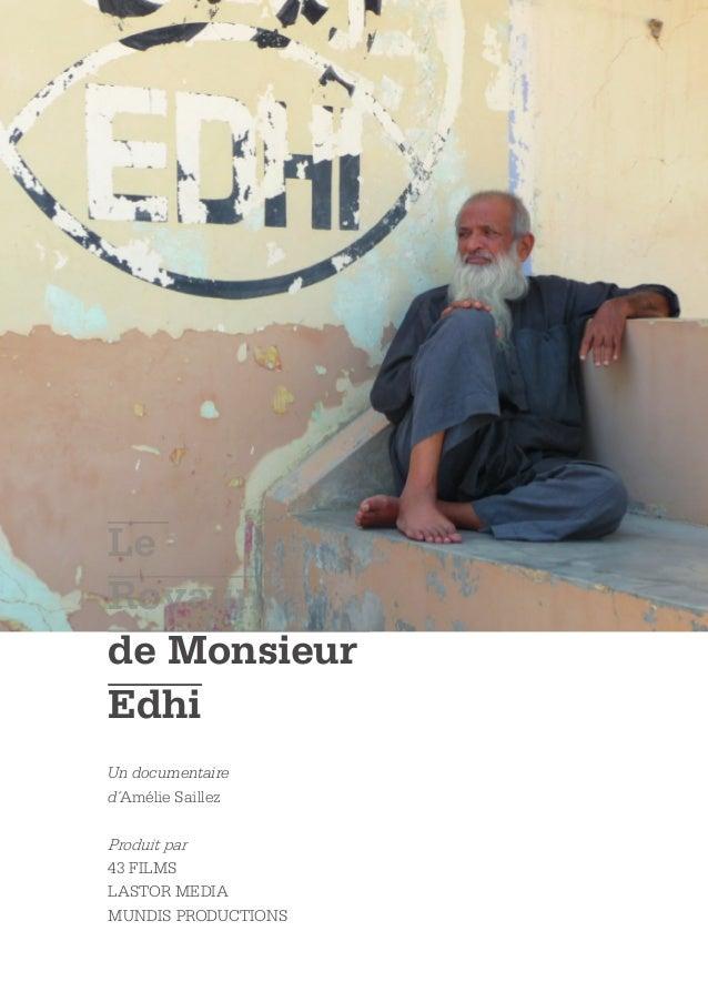 LeRoyaumede MonsieurEdhiUn documentaired´Amélie SaillezProduit par43 FILMSLASTOR MEDIAMUNDIS PRODUCTIONS