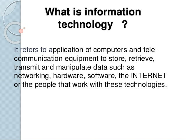 the impact of information technology to The impact of information and communication technology on youth and its vocational opportunities in nigeria 1 nigeria.