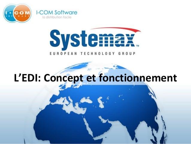 L'EDI: Concept et fonctionnement