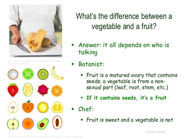 ugli fruit what is the difference between a fruit and a vegetable