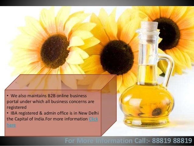 Edible oil brokers in India