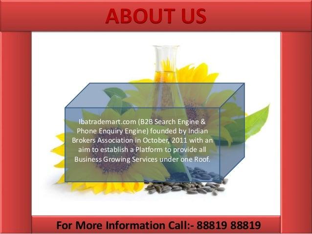 Edible oil distributors list in india