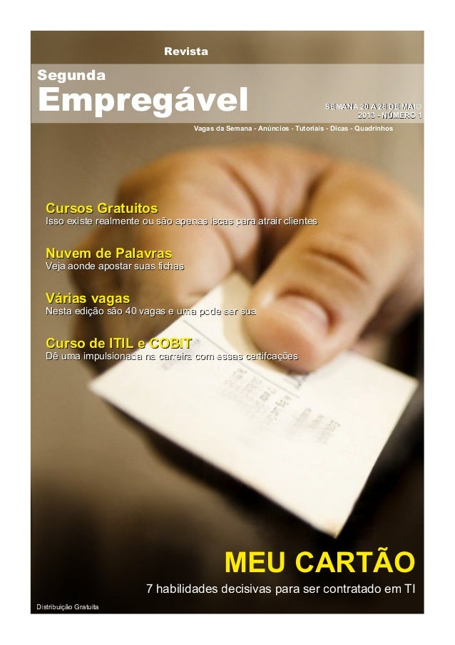 RevistaVagas da Semana - Anúncios - Tutoriais - Dicas - QuadrinhosSSEEMMAANNAA 2200 AA 2266 DDEE MMAAIIOO22001133 -- NNÚÚM...