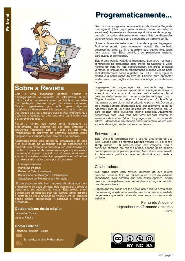 Segunda Empregável - Edição 27 Slide 2