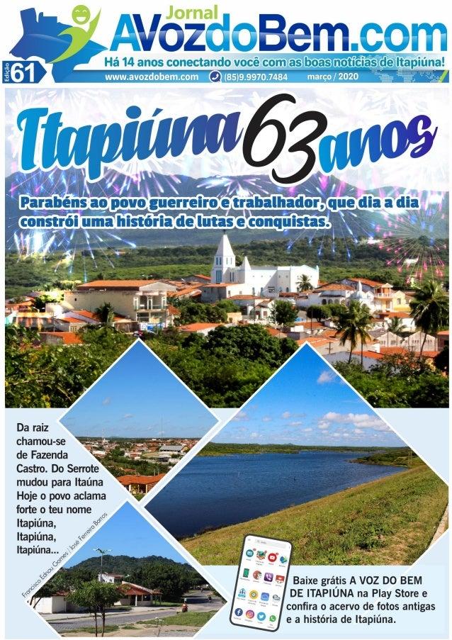 Edição 61 do Jornal avozdobem.com de Itapiúna