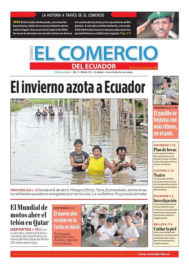 www.elcomercio.com/espana                                                Semana del viernes 9 al jueves 15 de abril de 201...