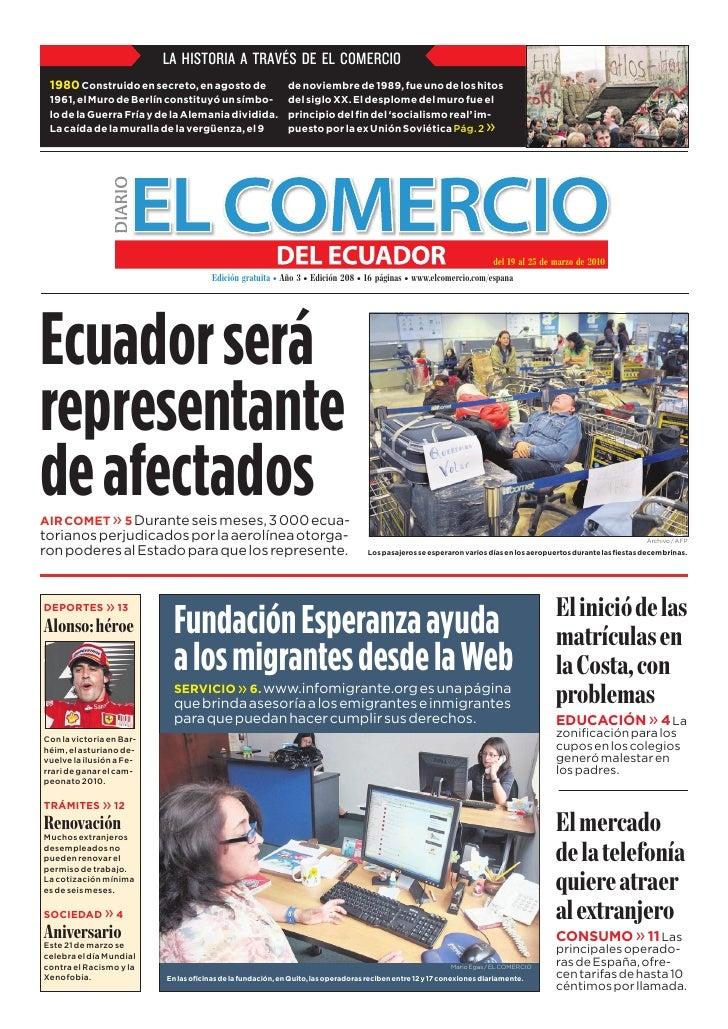 www.elcomercio.com/espana                                                          Semana del viernes 19 al jueves 25 de m...