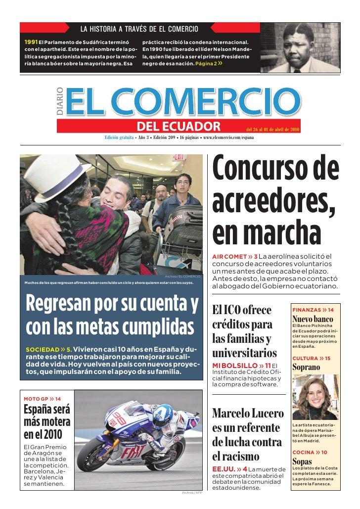 www.elcomercio.com/espana                                                                 Semana del viernes 26 al jueves ...