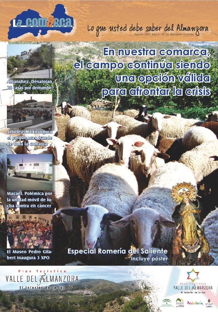 1                                                 Agosto 2009 Año 2 - Nº 22 Ejemplar Gratuito                             ...