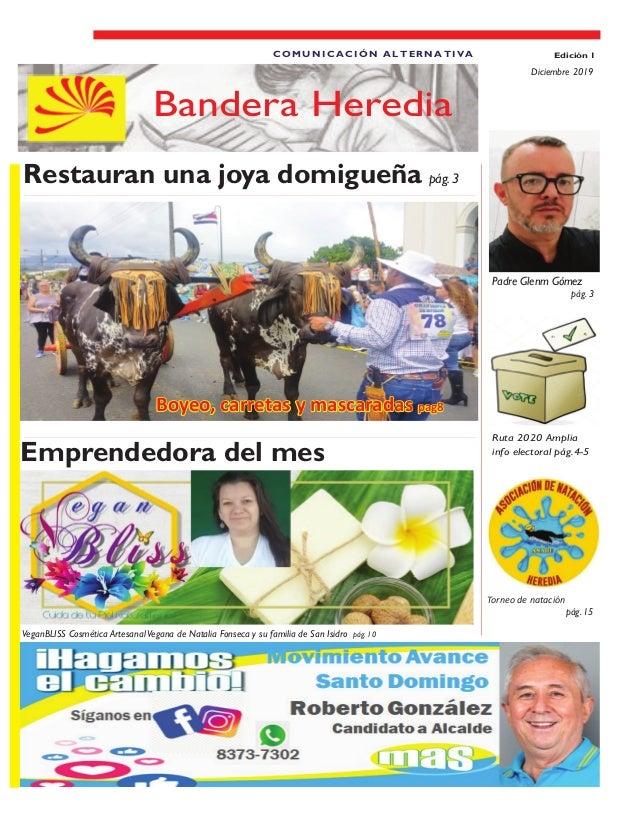 Emprendedora del mes VeganBliss Cosmética Artesanal Vegana de Natalia Fonseca y su familia de San Isidro. pág.10 Restauran...