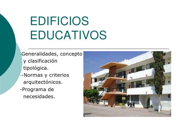 edificios educativos 2