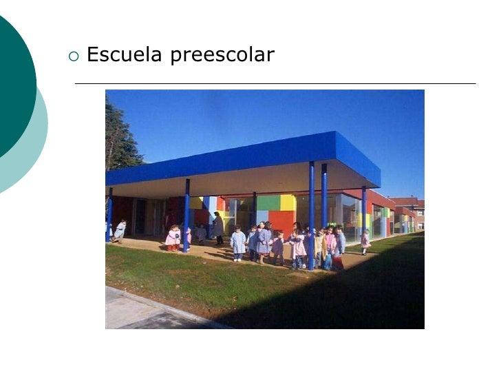 Edificios educativos 2 for Mobiliario para parvulos