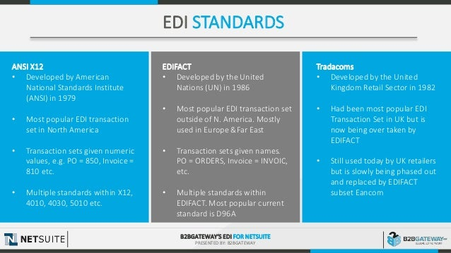 EDI for NetSuite